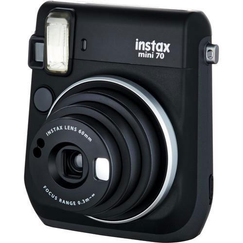 INSTAX MINI 70 BLACK +10 SHOTS Product Image (Secondary Image 2)
