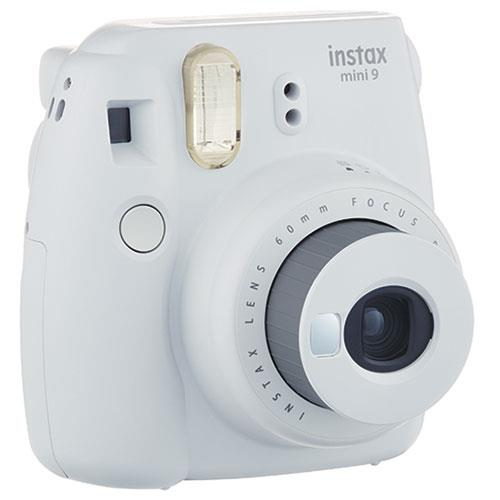 Instax Mini 9 Instant Camera in Smokey White + 10 Shots Product Image (Secondary Image 2)