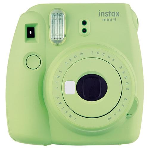 Instax Mini 9 Instant Camera in Lime Green + 10 Shots Product Image (Primary)