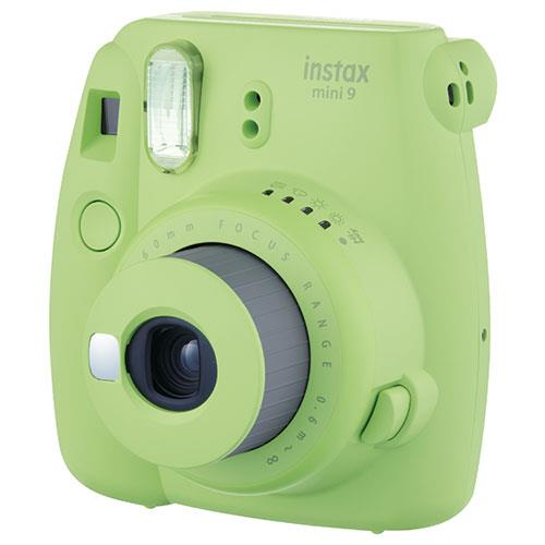 Instax Mini 9 Instant Camera in Lime Green + 10 Shots Product Image (Secondary Image 1)