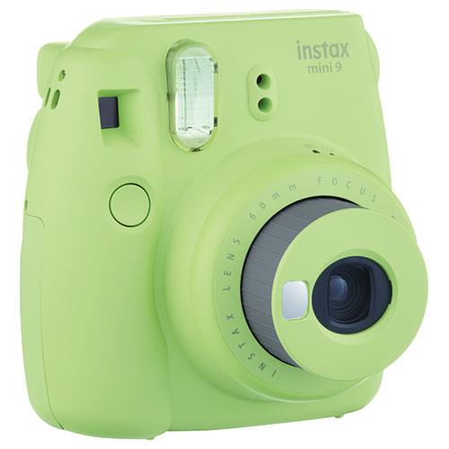 Instax Mini 9 Instant Camera in Lime Green + 10 Shots Product Image (Secondary Image 2)