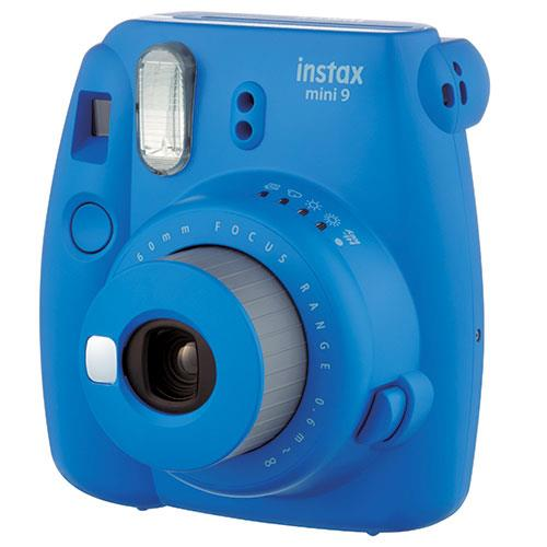 Instax Mini 9 Instant Camera in Cobalt Blue + 10 Shots Product Image (Secondary Image 1)