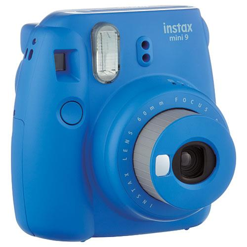 Instax Mini 9 Instant Camera in Cobalt Blue + 10 Shots Product Image (Secondary Image 2)