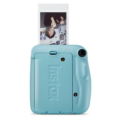 Mini 11 Instant Camera in Sky Blue Product Image (Secondary Image 1)