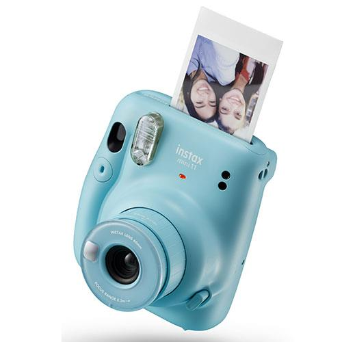 Mini 11 Instant Camera in Sky Blue Product Image (Secondary Image 2)