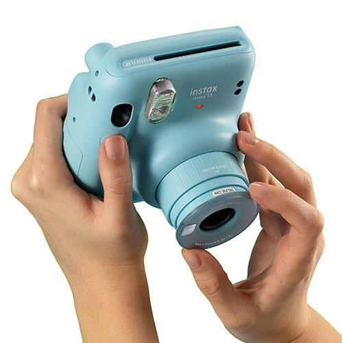 Mini 11 Instant Camera in Sky Blue Product Image (Secondary Image 4)