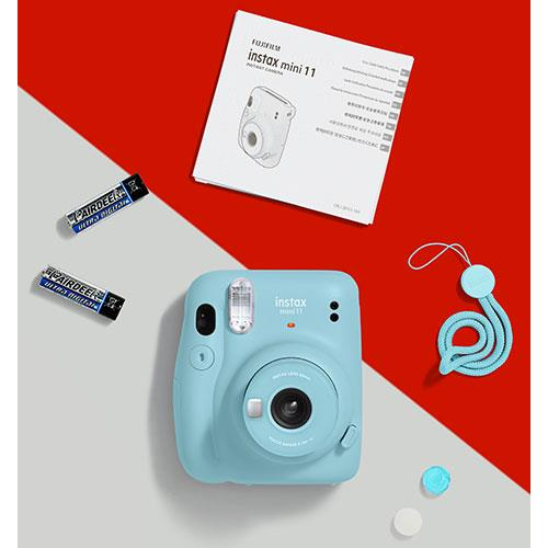 Mini 11 Instant Camera in Sky Blue Product Image (Secondary Image 6)