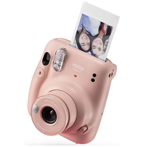 Mini 11 Instant Camera in Blush Pink Product Image (Secondary Image 2)