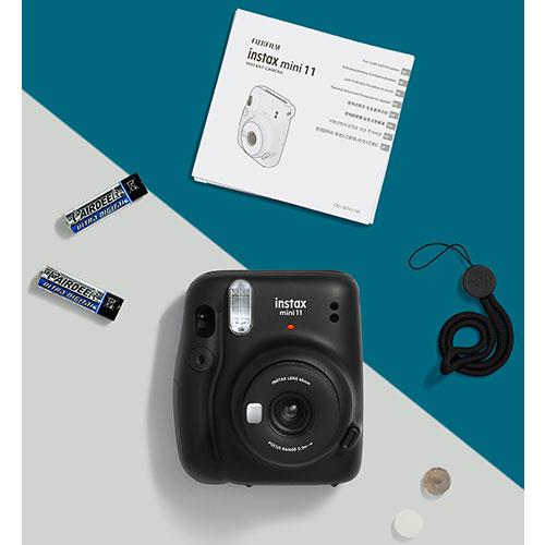 Mini 11 Instant Camera in Charcoal Grey Product Image (Secondary Image 3)