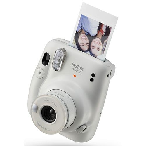 Mini 11 Instant Camera in Ice White Product Image (Secondary Image 2)