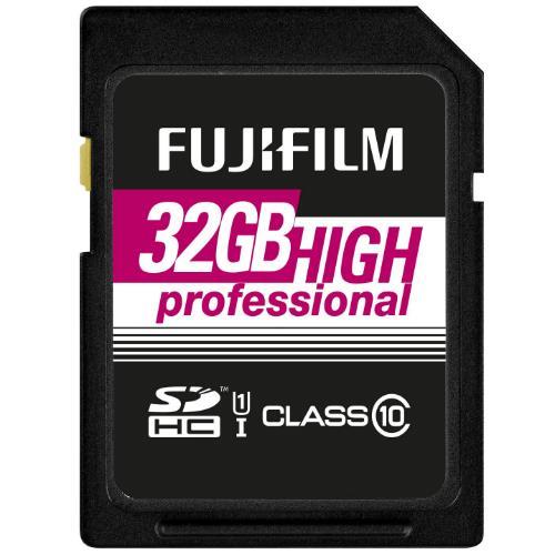FUJIFILM 32GB Prof UHS-I SD Product Image (Primary)