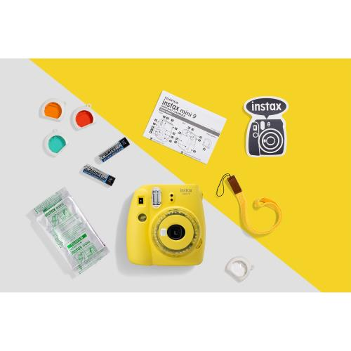 INSTAX MINI9 YELLOW + 10 Shots Product Image (Secondary Image 4)