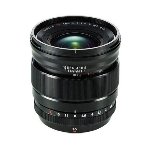 XF16mm f/1.4 R WR Lens Product Image (Primary)