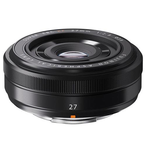 XF27mm F2.8 R WR Lens in Black Product Image (Primary)