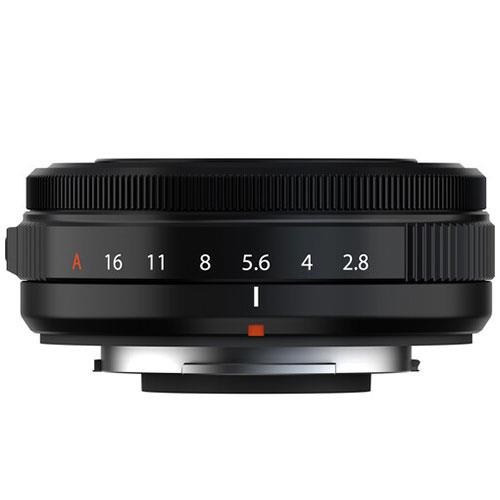 XF27mm F2.8 R WR II Lens in Black Product Image (Secondary Image 1)