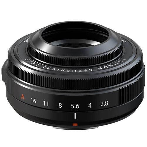 XF27mm F2.8 R WR II Lens in Black Product Image (Secondary Image 2)