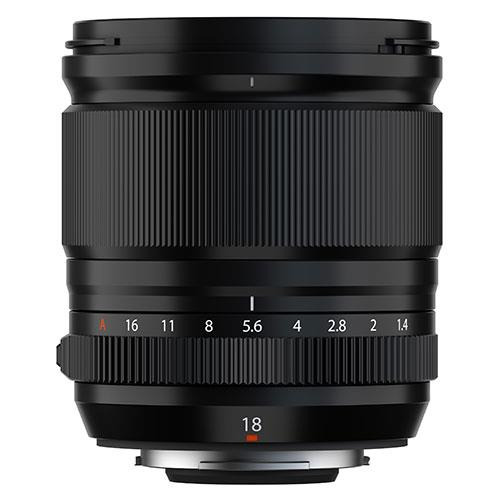 XF18mm F1.4 R LM WR Lens Product Image (Secondary Image 2)