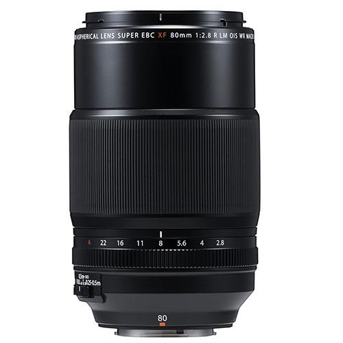 XF80mm f/2.8 R LM OIS WR Macro Lens Product Image (Secondary Image 1)