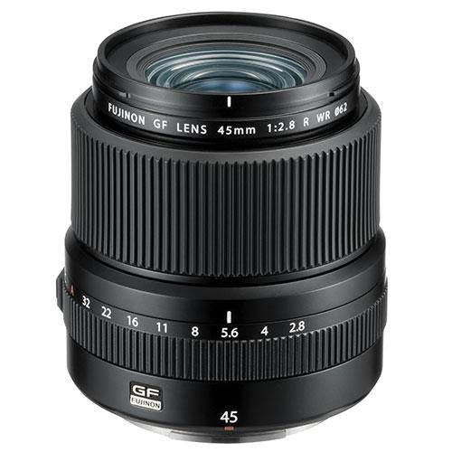 GF45mm f/2.8 R WR Lens Product Image (Primary)