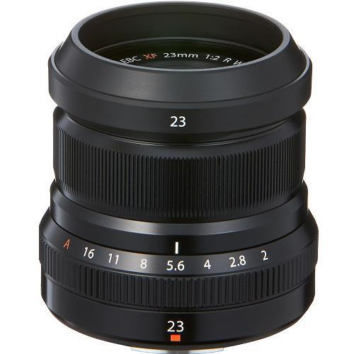 XF23mm F2 R WR Lens in Silver Product Image (Secondary Image 1)
