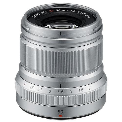 XF50mm f/2.0 R WR Lens in Silver Product Image (Primary)