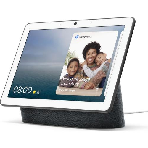 Nest Hub Max in Charcoal Product Image (Secondary Image 1)