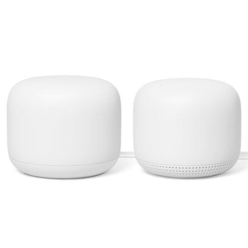 Nest Wi-Fi Router and Point Product Image (Primary)