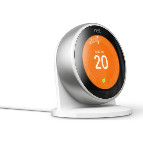 Nest Learning Thermostat in Stainless Steel Product Image (Secondary Image 4)