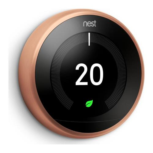 Nest Learning Thermostat in Copper Product Image (Secondary Image 1)