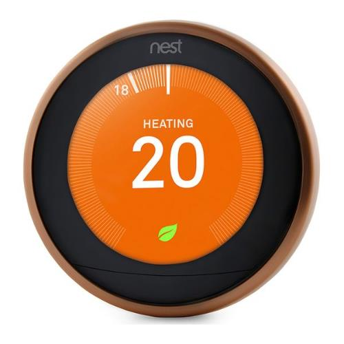 Nest Learning Thermostat in Copper Product Image (Secondary Image 3)
