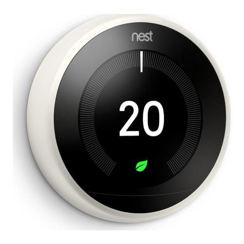 Nest Learning Thermostat in White Product Image (Secondary Image 1)
