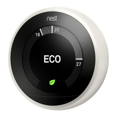 Nest Learning Thermostat in White Product Image (Secondary Image 2)