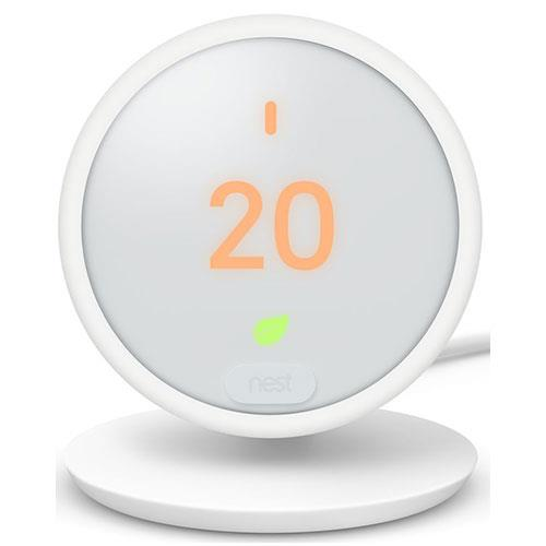 Nest Thermostat E in White Product Image (Primary)