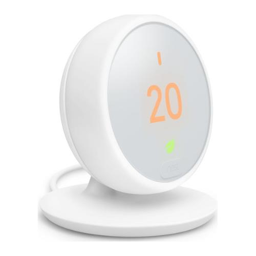 Nest Thermostat E in White Product Image (Secondary Image 1)