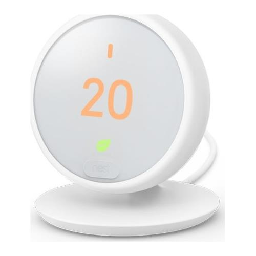 Nest Thermostat E in White Product Image (Secondary Image 2)