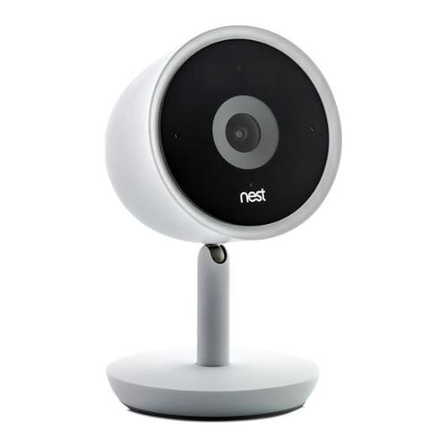 Nest Cam IQ Indoor Security Camera in White Product Image (Secondary Image 3)