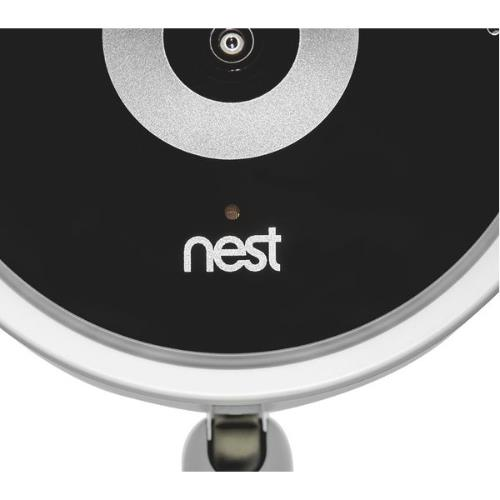 Nest Cam IQ Indoor Security Camera in White Product Image (Secondary Image 5)