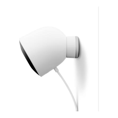 Nest Cam Outdoor Security Camera in White Product Image (Secondary Image 3)