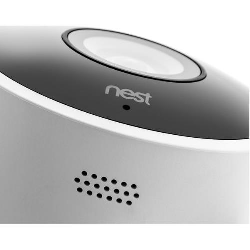 Nest Cam Outdoor Security Camera in White Product Image (Secondary Image 6)