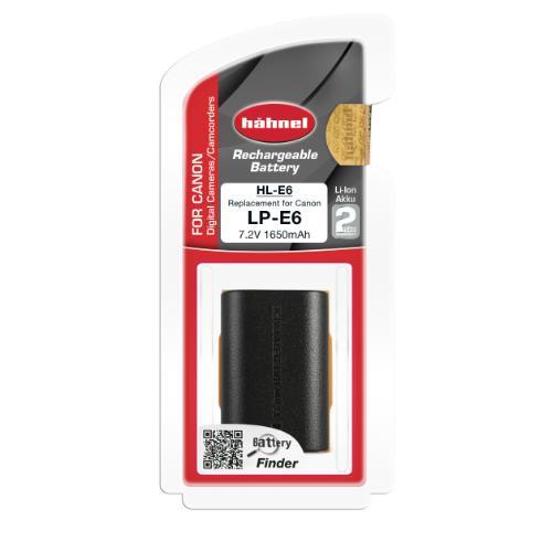 HL-E6 Li-ion Battery (Canon LP-E6)  Product Image (Secondary Image 3)