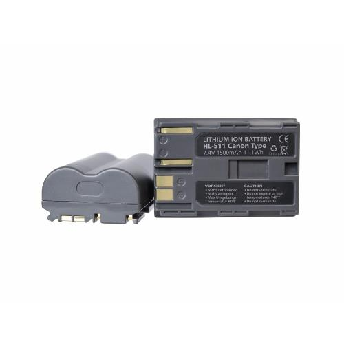HL-511 Battery for Canon  (BP-511) Product Image (Primary)