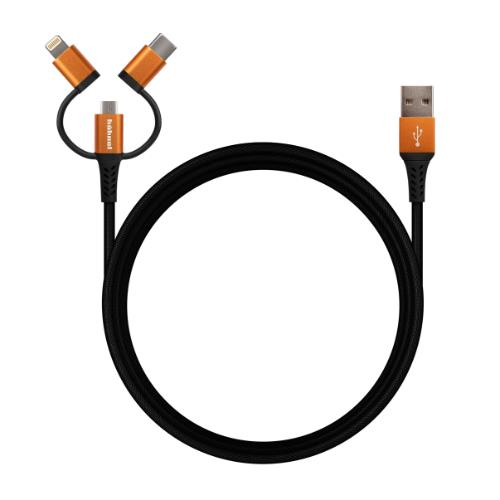 HAHNEL 3-in-1 Flexx Cable Product Image (Primary)