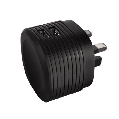 2 Port USB Charger 2.4A Product Image (Primary)