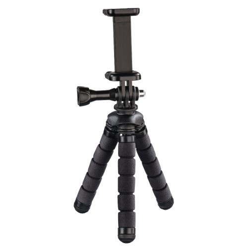Hama MINI TRIPOD FLEX S. Black Product Image (Primary)