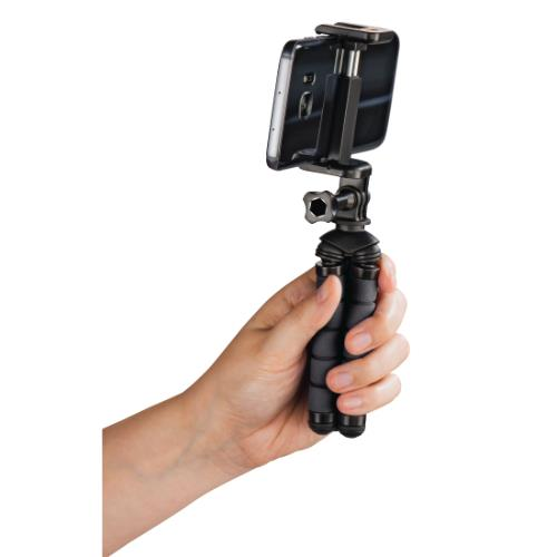 Hama MINI TRIPOD FLEX S. Black Product Image (Secondary Image 3)
