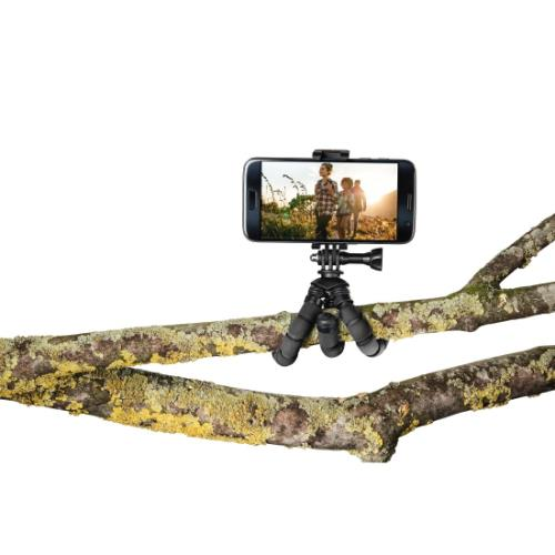Hama MINI TRIPOD FLEX S. Black Product Image (Secondary Image 6)