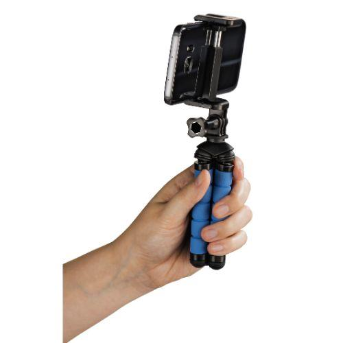 HAMA MINI TRIPOD FLEX S. Blue Product Image (Secondary Image 3)