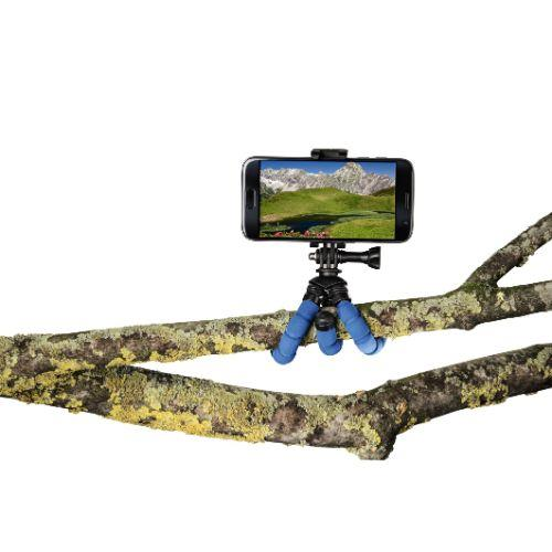HAMA MINI TRIPOD FLEX S. Blue Product Image (Secondary Image 4)