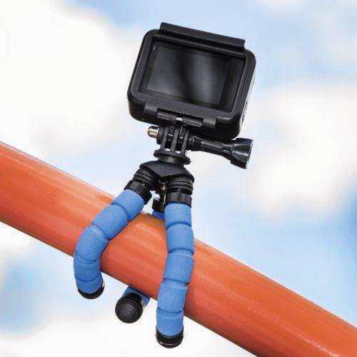 HAMA MINI TRIPOD FLEX S. Blue Product Image (Secondary Image 6)