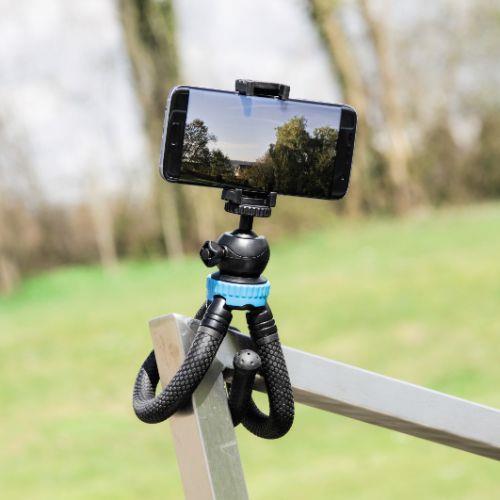HAMA FlexPro Blue 27cm Tripod Product Image (Secondary Image 6)